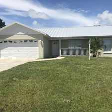 Rental info for 915 11th Court in the Vero Beach South area
