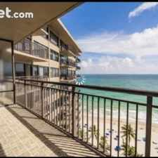 Rental info for Two Bedroom In Fort Lauderdale in the Coral Ridge Country Club Estates area