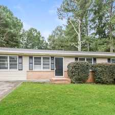 Rental info for Adorable 3BR, 1.5BA home in the Kennesaw area