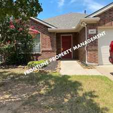 Rental info for 3/2/2 E HARMON & HWY 287 - N. Ft Worth- FRONT LANDSCAPING INCLUDED in the Chisholm Ridge area