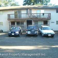 Rental info for 1315 21st St. in the Happy Valley area