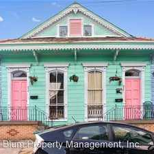 Rental info for 934-936 Mazant Street in the St. Claude area