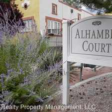 Rental info for 208 High St - Unit S in the South Valley area