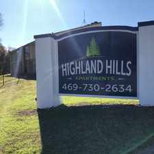 Rental info for Highland Hills Apartments in the Highland Hills area