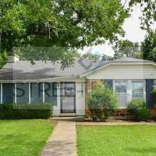 Rental info for Charming 4 Bedroom in Fort Worth! in the Westcliff area