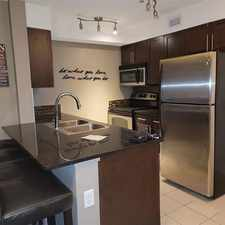 Rental info for COZY 2 BED/ 2 BATH + DEN CONDO WITH UNDERGROUND PARKING IN RUTHERFORD in the Callaghan area