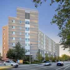 Rental info for Peninsula Apartments in the Columbia Point area