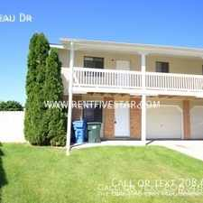 Rental info for 45 Plateau Dr in the Pocatello area