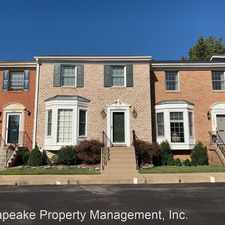 Rental info for 1005 Shire Court in the Odenton area