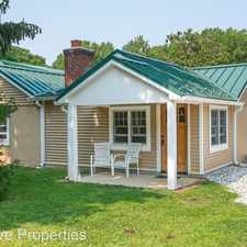 Rental info for 1138 Bay Ridge Road in the Annapolis area