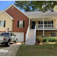 Rental info for 4912 Baker Ridge Place in the Acworth area