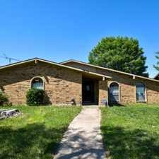 Rental info for 5628 Tucker St in the The Colony area