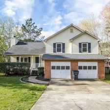 Rental info for 3881 Spring Meadow Dr in the Acworth area