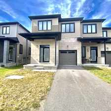 Rental info for 213 Don Brown Pvt in the Kanata South area