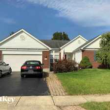 Rental info for 5741 Cypress Hollow Ct in the Grove City area