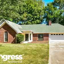 Rental info for 6136 Cherokee Dr in the Olive Branch area