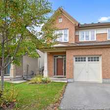Rental info for 133 Highbury Park Drive in the Barrhaven area
