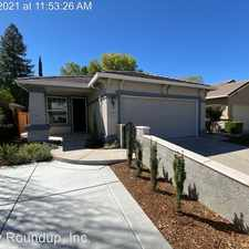 Rental info for 5252 Bay St in the Rocklin area