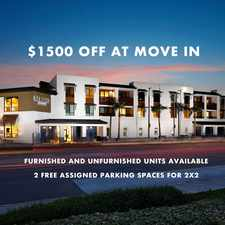 Rental info for Del Oro on Broadway in the San Diego area