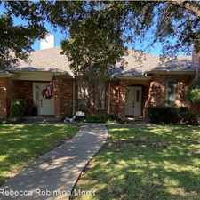 Rental info for 5504 Ledgestone Drive in the Overton South area