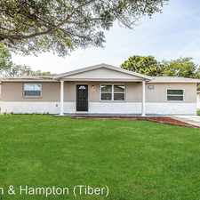 Rental info for 11615 MEADOW DR in the Bayonet Point area