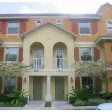 Rental info for gorgeous coconut creek townhome in the Coconut Creek area