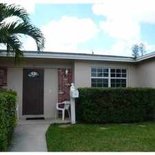 Rental info for Great Single Family Home with large yard in the 33066 area