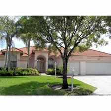Rental info for MAGNIFICENT CORAL SPRINGS POOL HOME!!!!! in the Coral Springs area