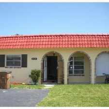 Rental info for Great Deerfield Beach home for rent in the Deerfield Beach area