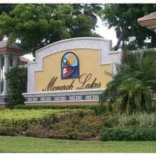 Rental info for Gorgeous Townhome in Monarch Lakes - Miramar in the Pembroke Pines area