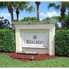 Rental info for LOVELY, LARGE, WEST MIRAMAR TOWNHOME in the Miramar area