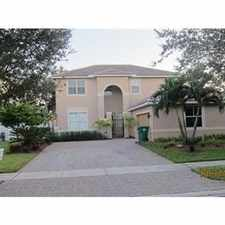 Rental info for LUXURY LIVING IN SUNSET LAKES- MONACO COVE in the Miramar area