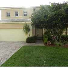 Rental info for LUXURY, CHARMING SINGLE FAMILY W/ LUSH LANDSCAPE in the Pembroke Pines area