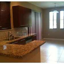 Rental info for SUNRISE TOWNHOME FOR RENT in the Sunrise area