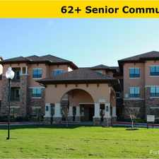 Rental info for GreenHouse Village Senior Community in the Houston area