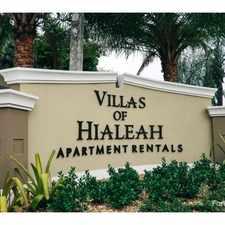 Rental info for Villas of Hialeah in the Hialeah Gardens area