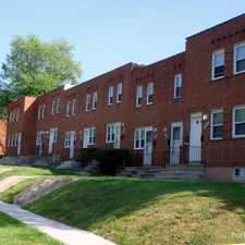 Rental info for College Gardens