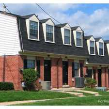 Rental info for Dutch Village Townhomes in the Harford - Echodale - Perring Parkway area