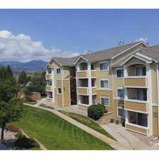 Rental info for Meadows at Cheyenne Mountain in the Colorado Springs area