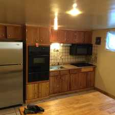 Rental info for Lower level 2 bedroom unit on the outer side of the city in the Baltimore area