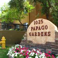 Rental info for Papago Gardens in the Phoenix area