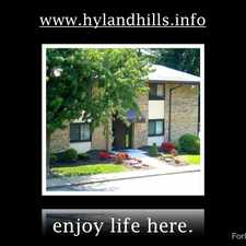 Rental info for Hyland Hills Apartments
