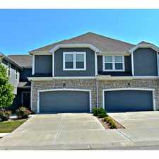Rental info for Herrington Park Townhomes in the Shawnee area