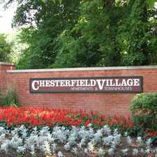 Rental info for Chesterfield Village Apartments