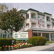 Rental info for Cypress Park Senior Community 55+