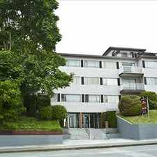 Rental info for : 315 Agnes Street, 1BR in the Burnaby area