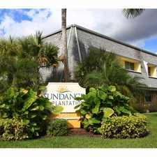Rental info for Sundance at Plantation in the Plantation area