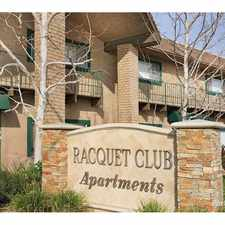 Rental info for Racquet Club Apts.