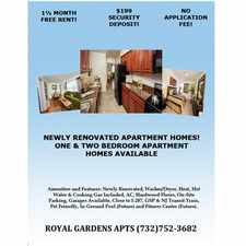 Rental info for Royal Gardens Apartments