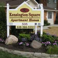 Rental info for Kensington Square